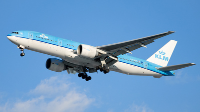 PH-BQA - Boeing 777-206(ER) - KLM Royal Dutch Airlines
