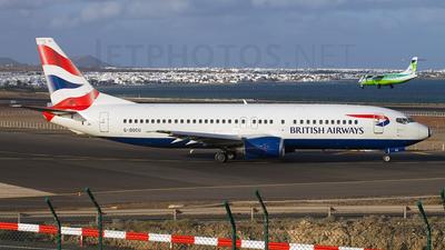 G-DOCU - Boeing 737-436 - British Airways
