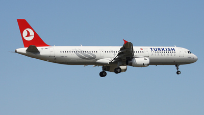 TC-JMJ - Airbus A321-231 - Turkish Airlines