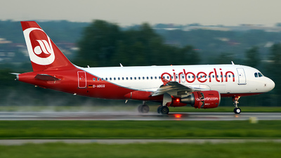 D-ABGQ - Airbus A319-112 - Air Berlin