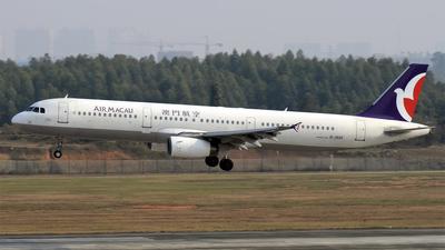 B-MAF - Airbus A321-131 - Air Macau