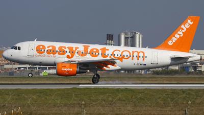 G-EZAW - Airbus A319-111 - easyJet