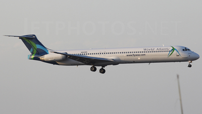 N804WA - McDonnell Douglas MD-83 - World Atlantic Airlines