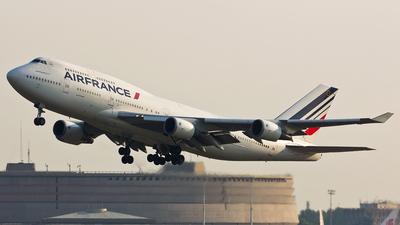 F-GISD - Boeing 747-428(M) - Air France