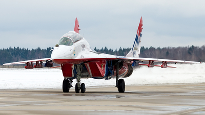 02 - Mikoyan-Gurevich MiG-29UB Fulcrum - Russia - Air Force