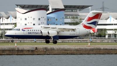 G-LCYC - British Aerospace Avro RJ85 - BA CityFlyer