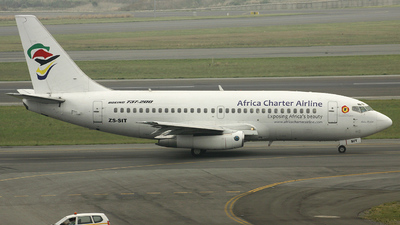 ZS-SIT - Boeing 737-236(Adv) - Africa Charter Airline