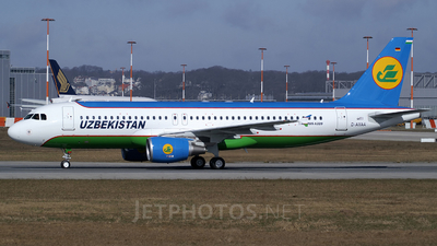 D-AXAA - Airbus A320-214 - Uzbekistan Airways