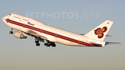 HS-TGE - Boeing 747-3D7 - Thai Airways International