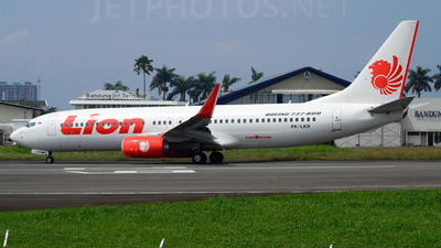 PK-LKR - Boeing 737-8GP - Lion Air