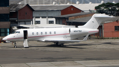 N507BX - Bombardier BD-100-1A10 Challenger 300 - Private