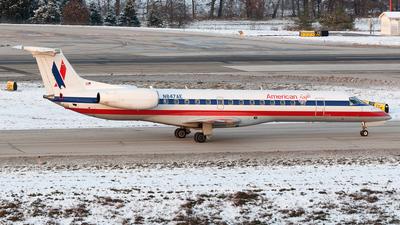 N847AE - Embraer ERJ-140LR - American Eagle