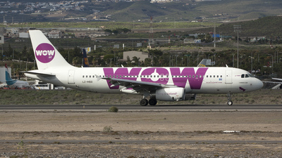 LZ-MDD - Airbus A320-232 - WOW Air (Air Via)