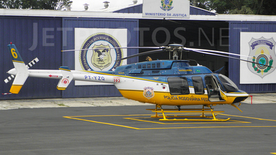 PT-YZQ - Bell 407 - Brazil - Highways Federal Police