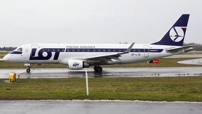 SP-LIB - Embraer 170-200STD - LOT Polish Airlines