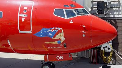 VH-VOB - Boeing 737-8BK - Virgin Blue Airlines