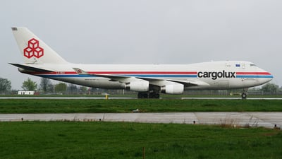 LX-RCV - Boeing 747-4R7F(SCD) - Cargolux Airlines International