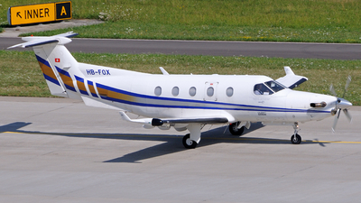 HB-FOX - Pilatus PC-12/45 - Lions Air