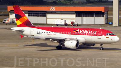 N422AV - Airbus A319-115 - Avianca