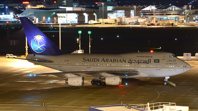 HZ-AIF - Boeing 747SP-68 - Saudi Arabia - Royal Flight