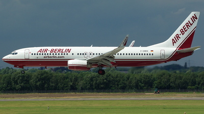 D-ABBQ - Boeing 737-86N - Air Berlin