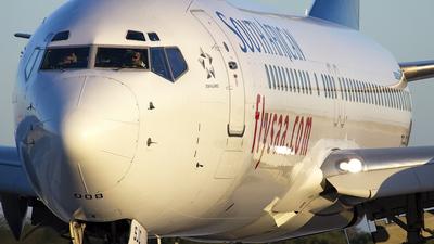 ZS-SJC - Boeing 737-85F - South African Airways
