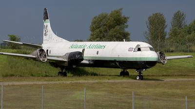 G-FIJV - Lockheed L-188A(F) Electra - Atlantic Airlines