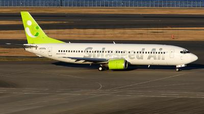 JA737A - Boeing 737-46Q - Solaseed Air