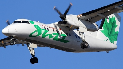 C-GABF - Bombardier Dash 8-102 - Air Canada Jazz