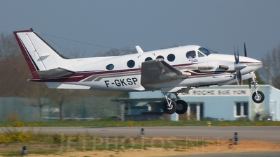 F-GKSP - Beechcraft C90B King Air - Private