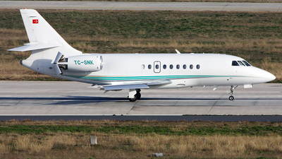 TC-SNK - Dassault Falcon 2000 - Super Air