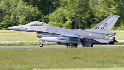J-637 - General Dynamics F-16AM Fighting Falcon - Netherlands - Royal Air Force
