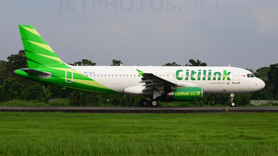 PK-GLA - Airbus A320-232 - Citilink