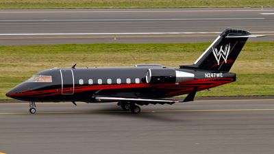 N247WE - Bombardier CL-600-2B16 Challenger 604 - Private