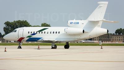 VP-CGB - Dassault Falcon 900B - VW Air Services