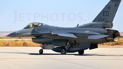 85-1547 - General Dynamics F-16C Fighting Falcon - United States - US Air Force (USAF)