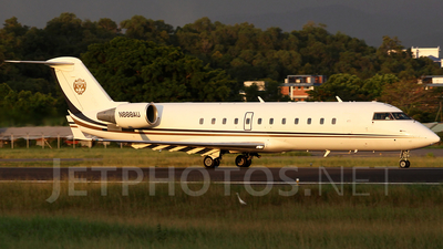 A picture of N888AU - Bombardier Challenger 800 - [7211] - © waiping
