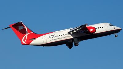 G-BZAT - British Aerospace Avro RJ100 - Asian Express Airline