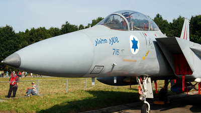 715 - McDonnell Douglas F-15D Baz - Israel - Air Force
