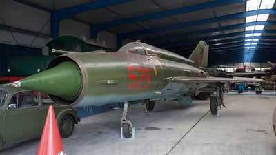 529 - Mikoyan-Gurevich MiG-21F-13 Fishbed C - German Democratic Republic - Air Force
