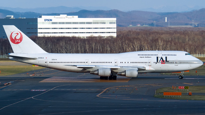 JA8904 - Boeing 747-446D - Japan Airlines (JAL)