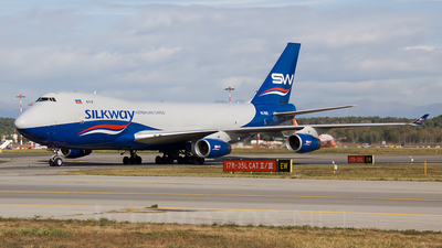 4K-800 - Boeing 747-4R7F(SCD) - Silk Way Airlines