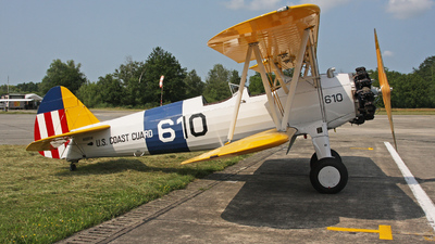 N66RW - Boeing A75N1 Stearman - Private
