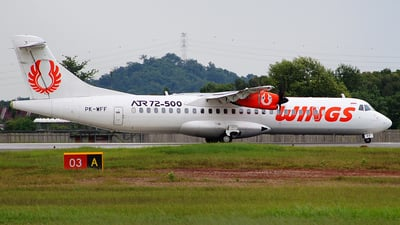 PK-WFF - ATR 72-212A(500) - Wings Air