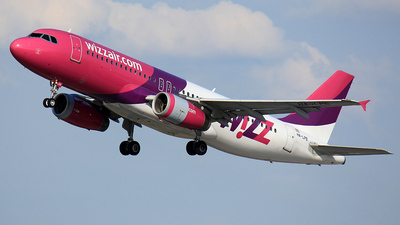 HA-LPE - Airbus A320-233 - Wizz Air