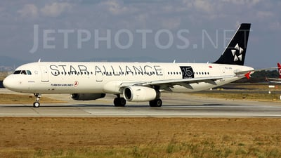 TC-JRA - Airbus A321-232 - Turkish Airlines