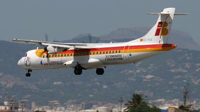EC-HCG - ATR 72-212A(500) - Iberia Regional (Air Nostrum)