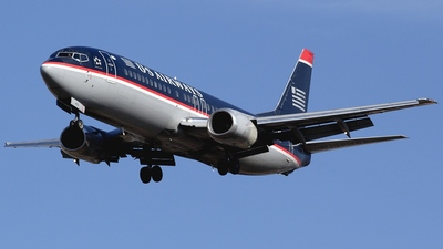 N453UW - Boeing 737-4B7 - US Airways