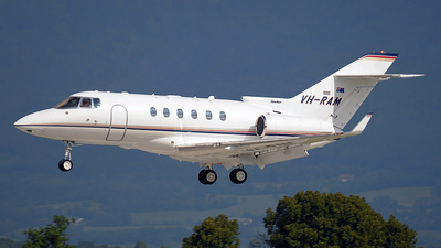 VH-RAM - Raytheon Hawker 850XP - Ramsay Air Charter