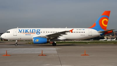 SX-SMT - Airbus A320-231 - Viking Hellas Aviation